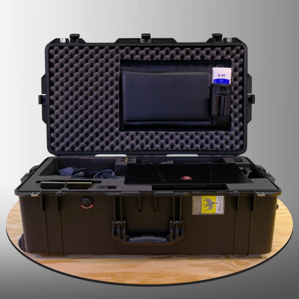 Mousse de protection valise d'équipement de réalité virtuelle