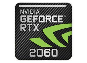 Sigle / Logo de la carte graphique Nvidia Geforce RTX 2060 pour la réalité virtuelle