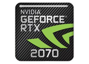 Sigle / Logo de la carte graphique Nvidia Geforce RTX 2070 pour la réalité virtuelle