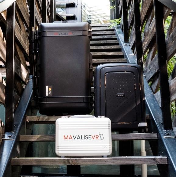 3 valises et malettes de réalité virtuelle transportables
