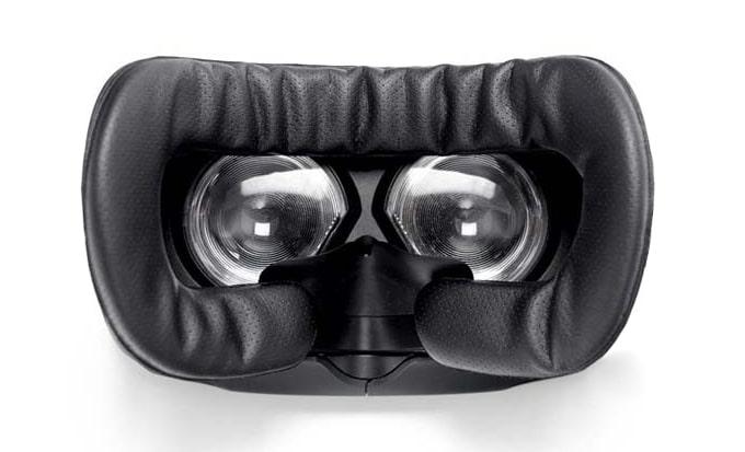 Mousse de remplacement pour casque de réalité virtuelle en simili cuir.