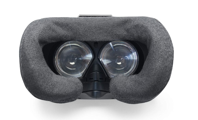Mousse de remplacement pour casque de réalité virtuelle en tissu.